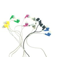 Wholesale Iphone Earphone Good Quality - Earphones Headphones for iphone samsung mp3 In-ear style free shipping good quality 6 colors 1000pcs lot NEW