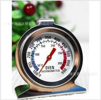 Wholesale Oven Thermometer Steel - Oven Thermometer Stainless Steel Pointer Type Can Be Used Directly Into The Ovens 50 300 Degree Direct Deal 5yd