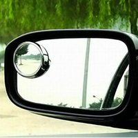 Driver 2 Side Wide Angle Round Convex Car Vehicle Mirror Blind Spot Automático RearView para todos os carros 2pcs por conjunto Auto Rear View