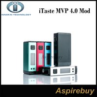 Wholesale Ups Power Metal - Innokin iTaste MVP 4.0 100W TC Box Mod Power Up with Big 4500mah Battery MVP4 MVP 4.0 Box Mod Big Vaporizer Power Bank 100% Original