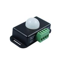 Wholesale 24v Pir Sensor - 12V 24V Mini PIR Motion Sensor Detector Switch for LED Lamp Strip Light Tape Body Infrared Detection 6A 12 Volt 24 Volts