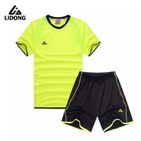 ac4c721fb 2017 New Boys Soccer Jerseys Set Kids Football Kits Child Futbol Training  Suit Breathable Maillot De Foot Jersey Uniforms Custom ...