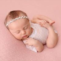 Wholesale Girl Petti Short - Baby Girl Cute petti Rompers Jumpsuits Newborn Baby Lace Romper Infant Toddler Photo Clothing Soft Lace Bodysuits 0-3M