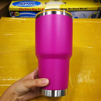 Wholesale Best Mugs - DHL Fast free ship! Hot 9 colours 30oz stainless steel mugs for syeti 30oz style cups Drinking cups top quality with best price with lid