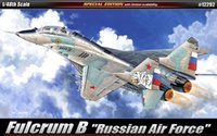 Wholesale- 1/48 FULCRUM B RUSSIAN AIR FORCE / ACADEMY MODEL KIT / 12292