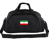 Wholesale College Football Nation - Iran duffel bag Soccer team flag tote Nation oxford luggage Football club duffle Handle backpack Sport sling handbag