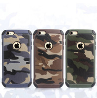 Wholesale Military Camo Case - Military Camouflage Camo Colors Cases For iPhone X 8 7 6S Plus Tough Rugged TPU Shockproof Back Cover for Samsung Galaxy Note 8 S9 S8 Plus