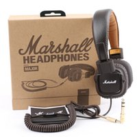 Marshall Headphones Marshall MAJOR casque casque Deep Bass Noise Isolating Avec MicRemote Hifi Moniteur Sur oreille casque DHL