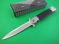 kaliteli kurtarma bıçağı toptan satış-Yüksek Kaliteli SOG KS931A Taktik kamp katlanır bıçak açık survival pocket knife kurtarma araçları 5cr13 blade G10 kolu