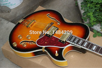 Wholesale Hollow Body Jazz - Wholesale-Custom shop gbson hollow body f holes jazz es175 byrdland electric guitar China
