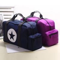 Wholesale Waterproof Nylon Duffel Bag - Travel Bag Women Waterproof Nylon Duffle Bag Women Large Capacity Luggage Handbag Travel ToteBag Weekend Bag Shoulder Bags Bolsa Viaje SizeM