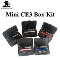 Wholesale Mini Styles Pens - New Mini CE3 Box Kit Bud Touch Starter Kit for oil e juice Touch Pen Style Vaporizer O pen