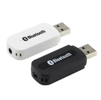 Wholesale Usb Dongle For Android - 3.5mm Jack USB Wireless Bluetooth Music Audio Receiver Dongle Adapter for Aux Car PC for Samsung IOS Android Phone