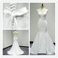 Wholesale Cheap Wedding Dresses China Online - Vestido De Noiva 2017 Vintage Sexy Simple Lace Mermaid Wedding Dresses Lace Up Back Cheap Boho Bridal Wedding Gowns Casamento China Online