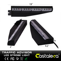 Brand new 32 LED Car 5 colori Ambra traffico di emergenza Advisor Flash Strobe Light Bar Flash Attenzione Light Vechicle Dash Light Warning Ambra
