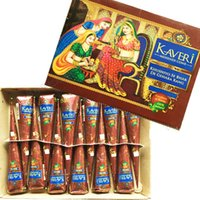 Wholesale Temporary Eye Tattoo Kit - High Quality 25g 12 Natural India Brown Color Herbal Henna Cones Waterproof Temporary Tattoo kit Body Art Paint Mehndi Ink
