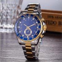 Wholesale Acrylic Diamonds Big - 2017 Hot Sell fashion Watchband movment stainless steel brand black big dial Diamond Watch Men Watch
