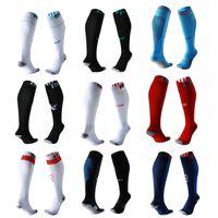 Wholesale Thick Soled Socks - 17-18 Men Soccer Socks adult 2017 2018 football team long tube thick soles anti slip Sports stocking home away socks