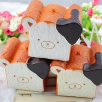 Wholesale Strap Toys For Sale - 12pcs kawaii rare squishy jumbo for sale rilakkuma squishy toast slow rising squeeze toy wit Scented Phone Straps