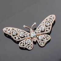 Wholesale Cheap Animal Brooches Pins - butterfly jewelry cheap brooches pins fashion brooches gold brooch for wedding gifts for guest brooch wedding favors party favors