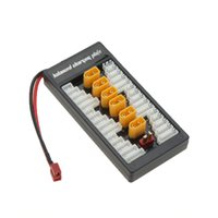 Wholesale Battery Lipo 2s - Wholesale- 2S-6S Lipo Battery Parallel Charging Board Charger Plate TX60 Plug for Imax B6 B6AC B8 6 in 1