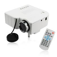 Wholesale Multimedia Entertainment - UC28 PRO HDMI Portable Mini projector LED Entertainment Projector Home Cinema Theater beamer Multimedia Video