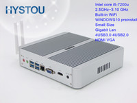 Wholesale Hot sale th Gen CPU Intel Core i5 U Mini computer TV Box Windows10 dual display USB Low Power V Micro Computer PC