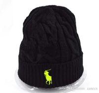 Wholesale Mens Knit Caps - Mens Womens skullies winter knitted hat beanies warm bonnet enfant wool cap striped casual caps gorro