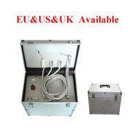 Wholesale Dental Portable Units - 1 Pcs Professional Dental Portable Delivery Unit  Three Way Syringe  Suction System US & EU & UK Plug Available