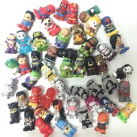 """Wholesale Dc Toys - 1.5"""" Rare Random 30X Ooshies Pencil Toppers Marvel Heroes DC Comics Figure Great Toy CA183"""