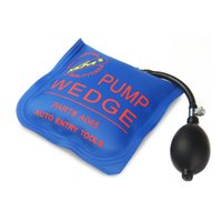 Wholesale Pumps Wedges - KLOM PUMP WEDGE LOCKSMITH TOOLS Auto Air Wedge Lock Pick Open Car Door Lock Medium Blue Size