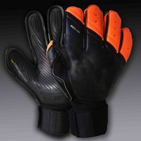 Wholesale Latex Free Gloves Wholesale - Jusdon Free Shipping to all Country 4MM Latex football goalkeeper gloves good quality without fingersave soccer gloves Professional