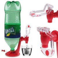 Wholesale Dispense Gadgets - Saver Soda Dispenser Bottle Coke Upside Down Drinking Water Dispense Machine Party Supplies Kitchen Gadgets Soda Tap OOA2497