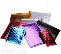 envío gratuito sobres acolchados al por mayor-20x28 cm Mailing Bags Aluminium Bubble Shipping Bag Sobres acolchados Bubble Mailers 100 unids / lote Envío gratis