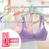 Wholesale Travelling Clothes Rack - Folding hanger travel portable magic drying rack plastic home non-slip drying racks travel clothing hanging hanging