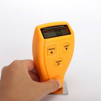 Wholesale Digital Ultrasonic Thickness Gauge - Mini Film Coating Thickness Gauge Ultrasonic Car Digital Auto Painting Coat Thickness Meter Non-Metal Paint Diagnostic Tools