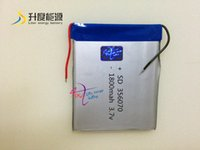 Mid Tablet China Pas Cher-Tricots Digital Batteries Chine fabrication vente chaude 356070 3.7V 1800mAh rechargeable rechargeable lipo batterie pour tablette de 7inch, MID, ...