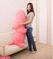 Wholesale Giant Stuffed Plush Hippo - Hot Sale 63''   160cm Cute Jumbo Giant Plush Stuffed Hippo Toy ,Nice Birthday Gift, 5 Colors Available! Free Shipping FT50043