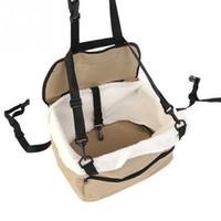 Wholesale Pet Foldable Bag - Pet Dog Puppy Cat Car Seat Booster Seat Carrier Car Auto Vehicle Leash Foldable Pet Dog Car Carrier Bag