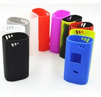 Wholesale Cigarettes Box Cover - DHL shipping Smok Alien 220W Silicone Cases Silicon Sleeve Cover Skin For Smoktech Alien 220 TC Box Mod Vape mod electronic cigarettes