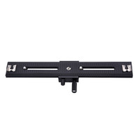 "Wholesale Macro Focusing Rail Way - Wholesale- Photo Studio Accessories LP-03 250mm Movable Range 2 Way Macro Focusing Rail Slider For DSLR and DC with standard 1 4"" screw"