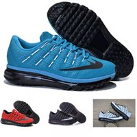 Wholesale Outlet Point - 2016 men air Running Shoes 11 color factory outlet green Sports Shoes men's shoes sneakers Trainers Free Shipping