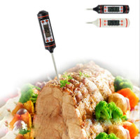 Wholesale Large Lcd Temperature - Latest Cooking Thermometers, TP101 Digital Stainless Cooking Thermometer with Instant Read, Long Probe, Large LCD Screen, Anti-Corrosion
