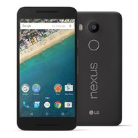 Gsm Dropshipping Pas Cher-LG Google Nexus 5X H791 H790 Original Unlocked GSM 4G LTE Android 5.2 '' 12.3MP Hexa Core RAM 2GB ROM 16GB Téléphone portable Dropshipping