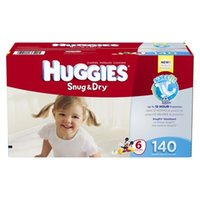 Wholesale Disposable Diapers Nappy - 2 Box 280 Count Hies Snug & Dry Baby Diapers Economy Plus Pack ( SIZE 6 )