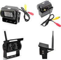 """Wholesale Camera System For Buses - Wireless Dual Car Rear View Camera Parking Assistance Backup System IR Night Vision Waterproof + 7"""" Monitor for RV Truck Bus"""