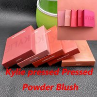 Wholesale Now Natural - New arrivals Free Shipping 5 colors Kylie Pressed Blush Powder With Different Colors Hopeless Romantic Hot and Bothered X Rated In Stock Now