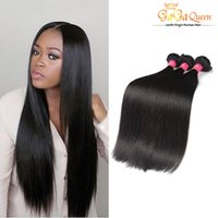 Wholesale Cheap Hair Products Free Shipping - Cheap Brazilian Human Hair Weave Unprocessed 8A Brazillian Straight Beauty Grace Hair Products Natural Color Free Shipping 3Bundles 100g pcs