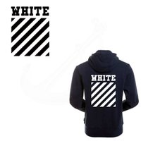 Wholesale Girls Patching Dress - 2017 New Europe popular OFF WHITE 28*21.56cm patches girl T-shirt Dresses Sweater thermal transfer Patch for clothing
