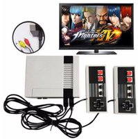 Wholesale Handheld Game Dhl - Mini TV Handheld Game Console Video Game Console For Nes Games with 500 Different Built-in Games PAL&NTSC 0801047 DHL shipping